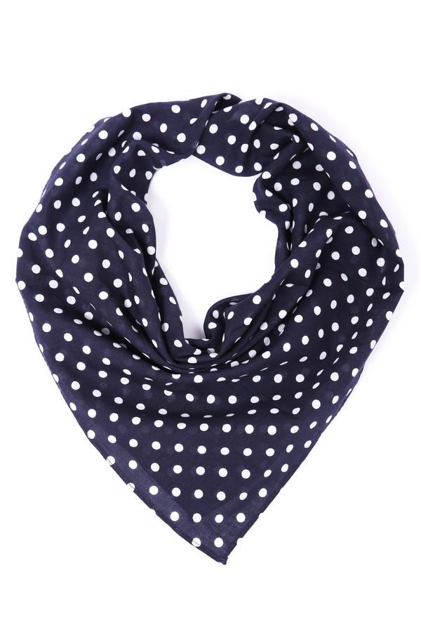 женский платок pezzo, синий
