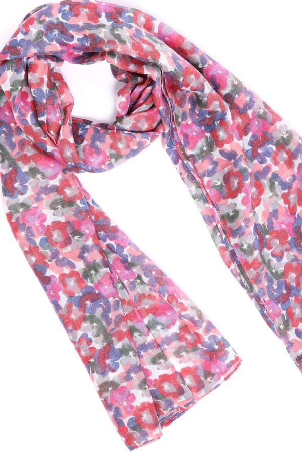 женский шарф pezzo, розовый