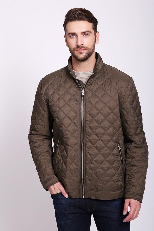 Куртка PezzoКуртки<br>Куртка мужская коричневого цвета бренда Pezzo. Модель выполнена прямым фасоном. Изделие дополнено круглым воротом стойка, застежка молния, втачными, длинными рукавами с манжетами на заклепки, прорезными карманами на молнию. Куртка стеганая с наполнителем. Ткань состоит из 100% нейлона. Наполнитель - 100% полиэстер. Подкладка - 100% нейлона. Сочетать можно с различными деталями вашего гардероба.