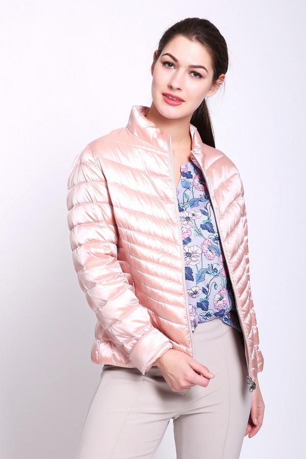 женская куртка betty barclay, розовая