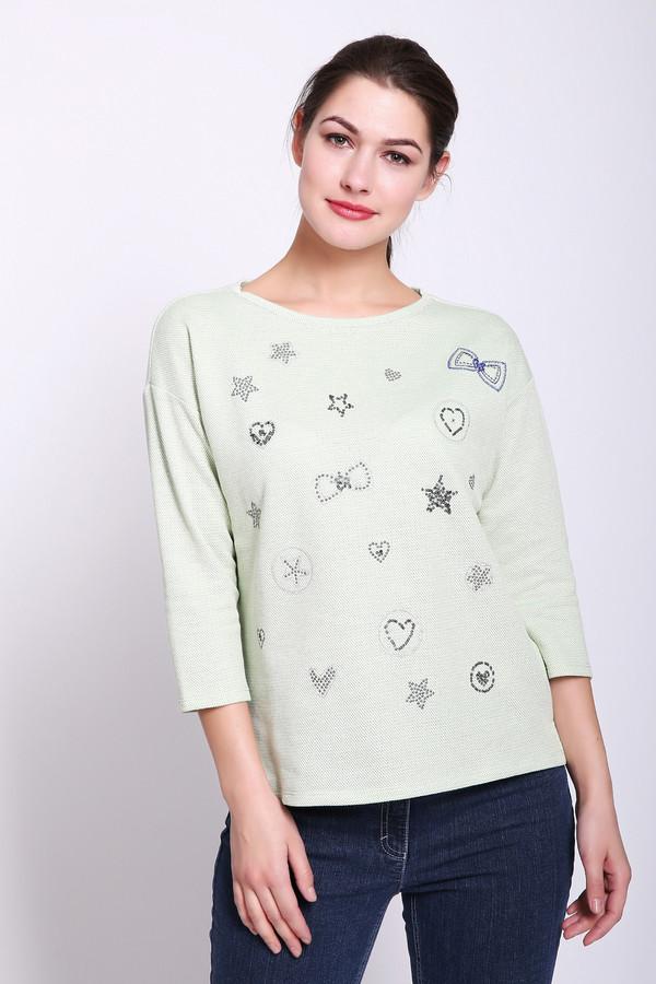 женская футболка betty barclay, зеленая