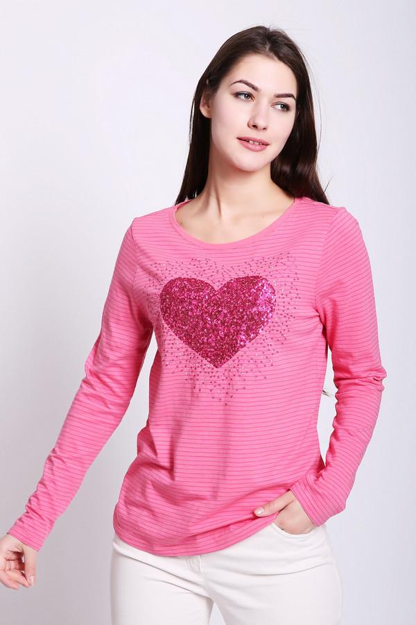 женская футболка betty barclay, розовая