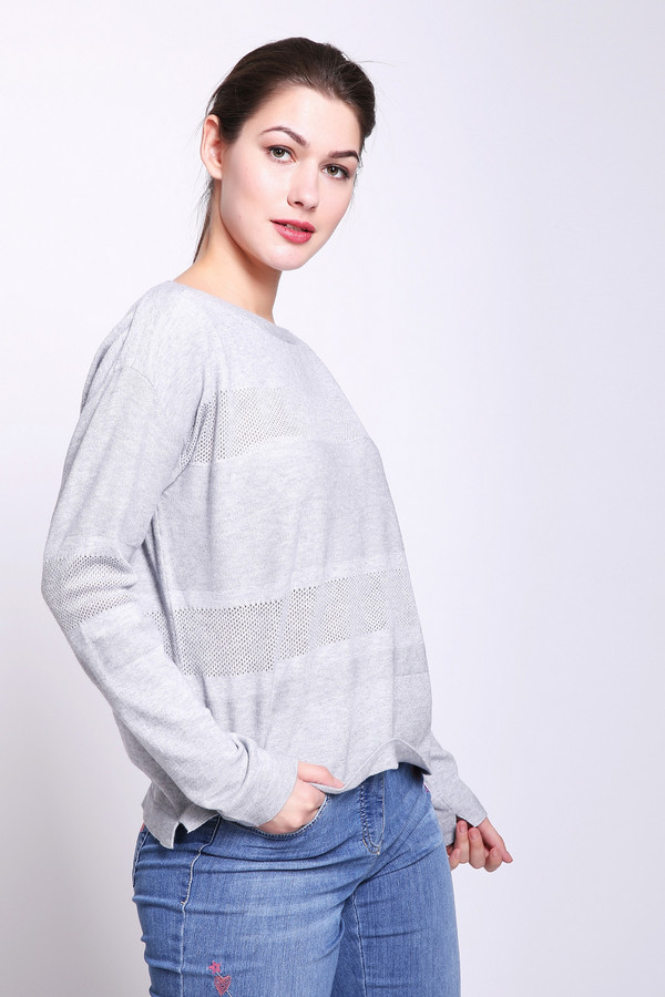 женский пуловер betty barclay, серый