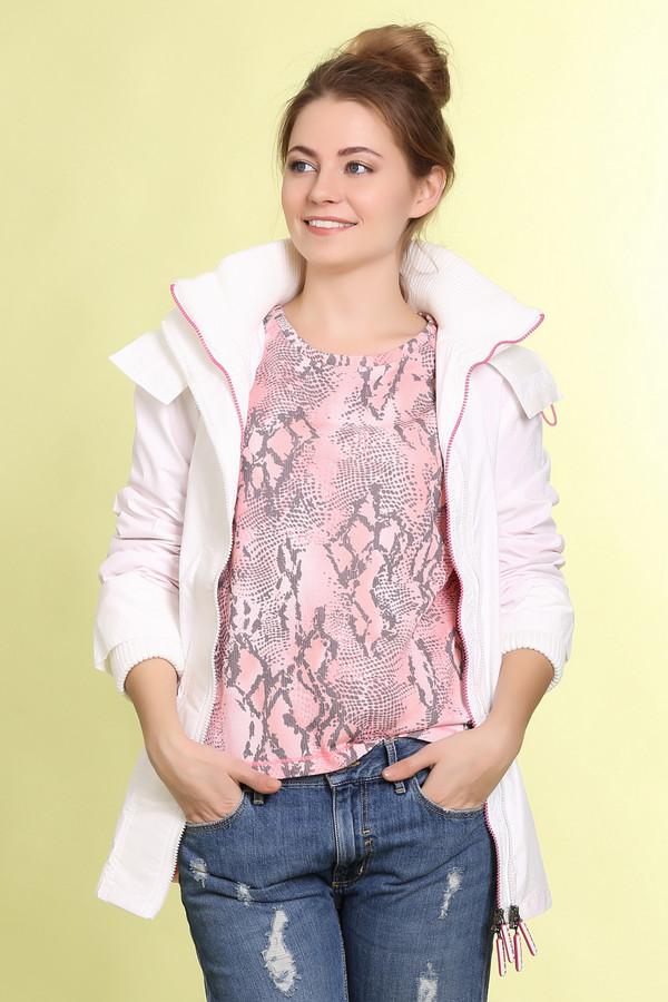 Куртка LocustКуртки<br>Белая ветровка от бренда Locust приталенного кроя выполнена из нейлонового материала. Изделие дополнено: капюшоном, длинными рукавами, планкой на молнии и поясом на талии в цвет. Ветровка имеет ветрозащиту, что позволяет с комфортом носить ее в осенне-весенний период. По бокам изделия расположены карманы на молнии. Манжеты дополнены эластичными вязанными манжетами.<br><br>Размер RU: 44-46<br>Пол: Женский<br>Возраст: Взрослый<br>Материал: нейлон 100%<br>Цвет: Белый