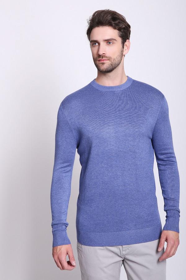 Джемпер PezzoДжемперы и Пуловеры<br>Джемпер мужской синего цвета бренда Pezzo. Модель выполнена прямым фасоном. Изделие дополнено круглым воротом, длинными рукавами. Состав ткани: 1% эластан, 89% вискоза, 10% полиамид. Сочетать можно с различными брюками.