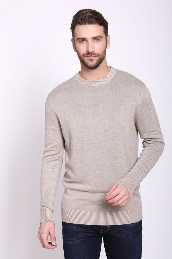 Джемпер PezzoДжемперы и Пуловеры<br>Джемпер мужской бежевого цвета бренда Pezzo. Модель выполнена прямым фасоном. Изделие дополнено круглым воротом, длинными рукавами. Состав ткани: 1% эластан, 89% вискоза, 10% полиамид. Сочетать можно с различными брюками.