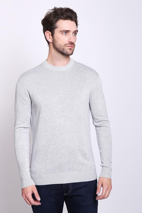Джемпер PezzoДжемперы и Пуловеры<br>Джемпер мужской серого цвета бренда Pezzo. Модель выполнена прямым фасоном. Изделие дополнено округлым воротом, длинными рукавами. Состав ткани: 1% эластан, 89% вискоза, 10% полиамид. Сочетать можно с различными брюками.