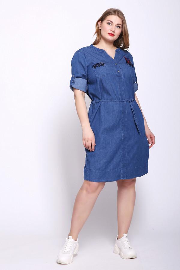 женское платье eugen klein, синее