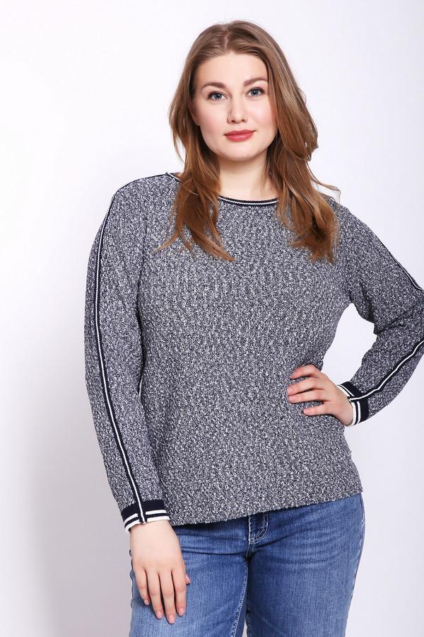 Фото - Женский пуловер Via Appia серого цвета
