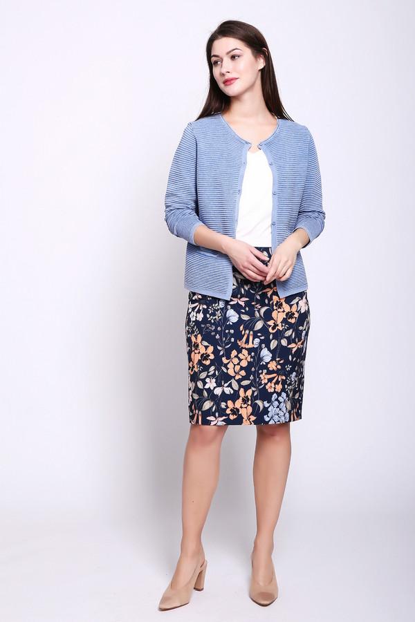 женская юбка taifun, синяя