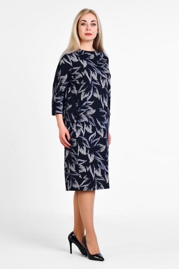 Платье OLSIПлатья<br>Элегантное классическое платье как самостоятельный предмет гардероба. Ткань содержит 10% эластана для идеальной посадки на любой тип фигуры больших размеров.  Вид застежки: Без застежки Вырез горловины: округлый Длина по спинке: р.48 - 108см р.50 - 108,5см р.52 - 109см р.54 - 109,5см р.56 - 110см р.58 - 110,5см р.60 - 111см р.62 - 111,5см р.64 - 112см р.66 - 112,5см р.68 - 113см р.70 - 113,5см  Длина рукава: 45см Покрой: полуприлегающий Рисунок: цветы Фактура материала: текстильный Тип карманов: без карманов Декоративные элементы: без элементов Конструктивные элементы: без разреза Длина платья: миди