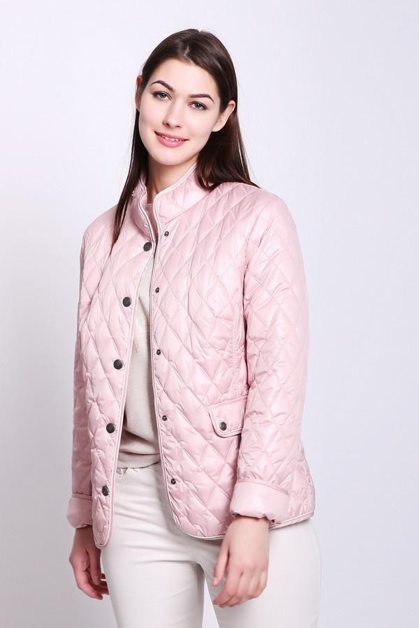 женская куртка lebek, розовая