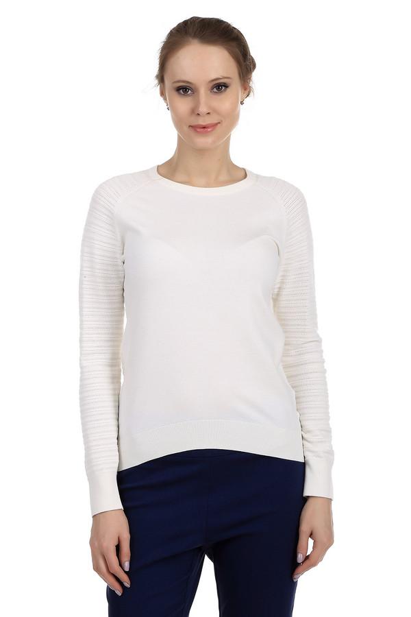 Пуловер PezzoПуловеры<br>Модный женский пуловер фирмы Pezzo. Данный пуловер представлен в белом цвете, в технике мелкой вязки из вискозы с добавлением полиэстера. Изделие дополнено: круглым вырезом, длинным рукавом на резинке, низом на резинке и металлическими пуговицами на спине.<br><br>Размер RU: 50<br>Пол: Женский<br>Возраст: Взрослый<br>Материал: вискоза 70%, полиэстер 30%<br>Цвет: Белый