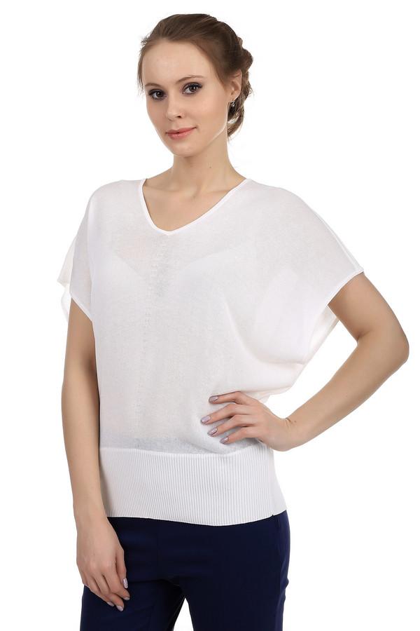 Пуловер PezzoПуловеры<br>Модный женский пуловер свободного покроя. Это полупрозрачный пуловер белого цвета от бренда Pezzo. Изделие дополнено: V-образным вырезом, коротким свободным рукавом и широкой резинкой снизу. Материал пуловера на 70% состоит из вискозы и на 30% из хлопка.<br><br>Размер RU: 54<br>Пол: Женский<br>Возраст: Взрослый<br>Материал: вискоза 70%, хлопок 30%<br>Цвет: Белый