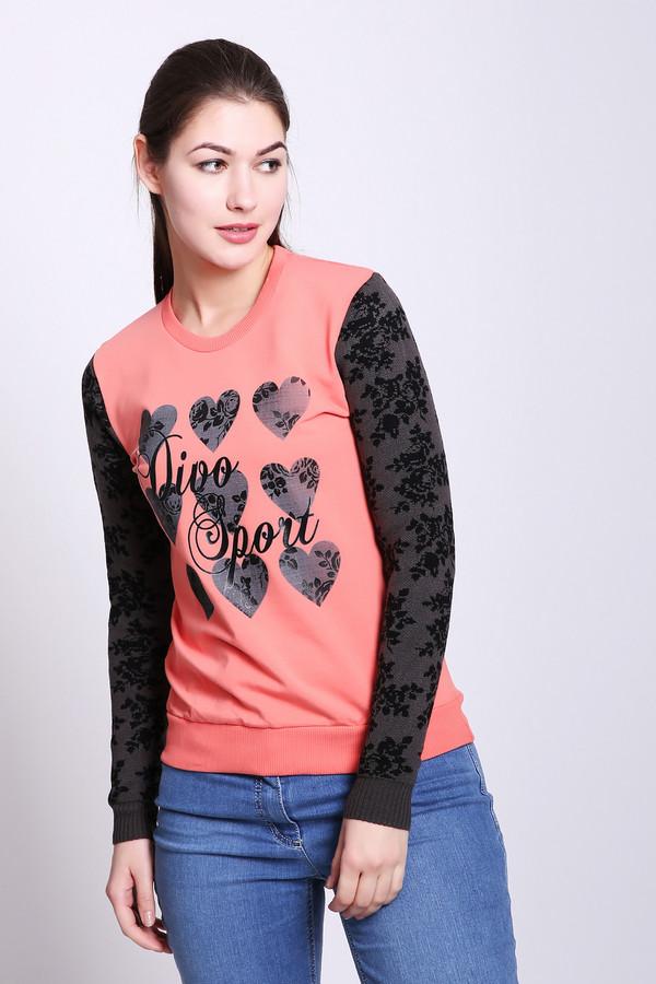 женский пуловер d.s, разноцветный