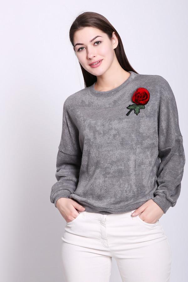 женский пуловер d.s, серый