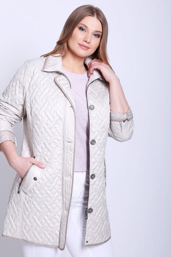 Куртка LebekКуртки<br>Куртка женская серого цвета фирмы Lebek. Модель выполнена прямым фасоном. Изделие дополнено круглым воротом стойка, застежка молния и на планке заклепки, втачными, длинными рукавами, прорезными карманами на молнию с клапанами, задним средним швом и рельефами, выходившие из проймы рукавов. Куртка стеганая с наполнителем. Ткань состоит из 100% полиэстера. Подкладка - 100% полиэстер. Наполнитель - 100% полиэстер. Комбинировать можно с различными деталями вашего гардероба.