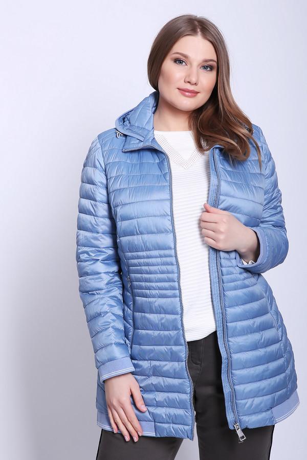женское пальто lebek, голубое