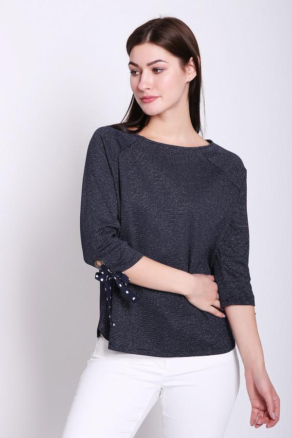 Пуловер Betty BarclayПуловеры<br>Пуловер женский серого цвета фирмы Betty Barclay. Модель выполнена прямым фасоном. Изделие дополнено округлым воротом, рукавами реглан 3/4 длины с манжетами на тесьму. Ткань состоит из 3% эластана, 86% хлопка, 11% полиамида. Гармонировать можно с различными брюками, юбками.
