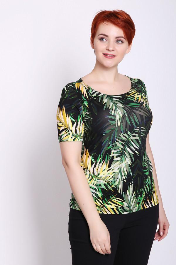 женская футболка steilmann, разноцветная