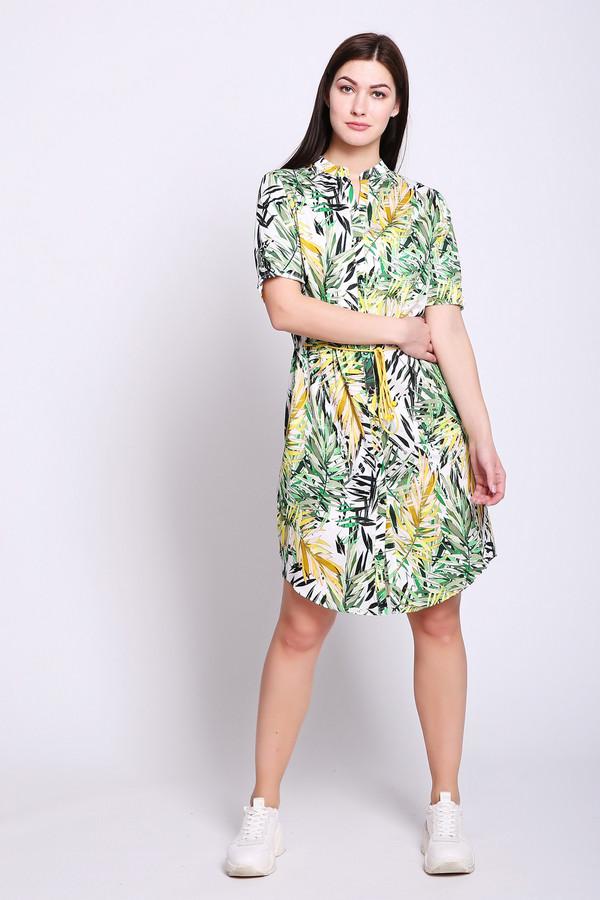 женское платье steilmann, зеленое