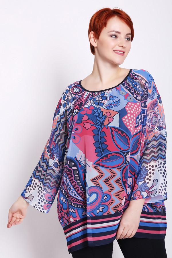 Фото - Женскую блузку Via Appia разноцветного цвета