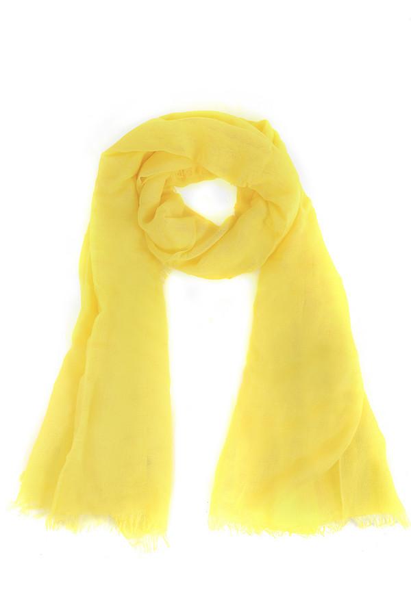 Шарф PezzoШарфы<br>Стильный женский шарф яркого желтого цвета. Это шарф от известного бренда Pezzo. По краям изделие с бахромой. Изготовлен он из 100% вискозы. Сделает ярким любой образ, вне зависимости от его стиля.<br><br>Размер RU: один размер<br>Пол: Женский<br>Возраст: Взрослый<br>Материал: вискоза 100%<br>Цвет: Жёлтый