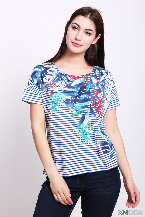 женская футболка olsen, синяя