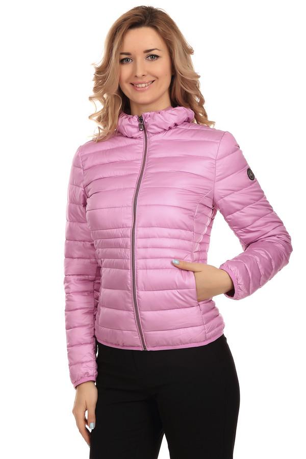 Куртка LerrosКуртки<br>Яркая женственная короткая, приталенная куртка от бренда Lerros. Это дутая стеганая куртка светло-розового цвета. Изделие застегивается на застежку-молнию и дополнено двумя боковыми карманами. Материал - 100% полиэстер.<br><br>Размер RU: 48<br>Пол: Женский<br>Возраст: Взрослый<br>Материал: полиэстер 100%<br>Цвет: Розовый