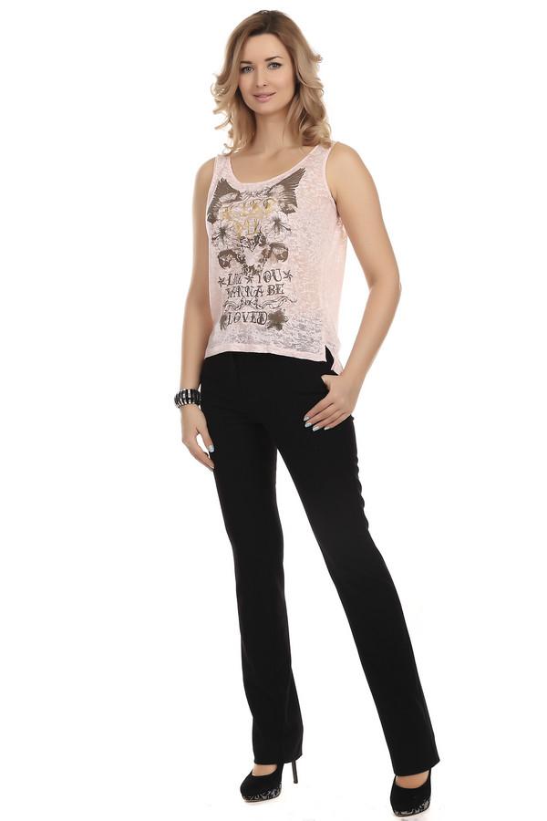 Брюки CommaБрюки<br>Классические женские брюки от бренда Comma прилегающего кроя представлены в черном цвете. Изделие дополнено: ремнем, двумя боковыми карманами и двумя прорезными карманами. Брюки застегиваются на молнию и фиксируются на пуговицу. В комплект входит элегантный тоненький ремешок.<br><br>Размер RU: 40<br>Пол: Женский<br>Возраст: Взрослый<br>Материал: эластан 5%, полиэстер 63%, вискоза 32%<br>Цвет: Чёрный