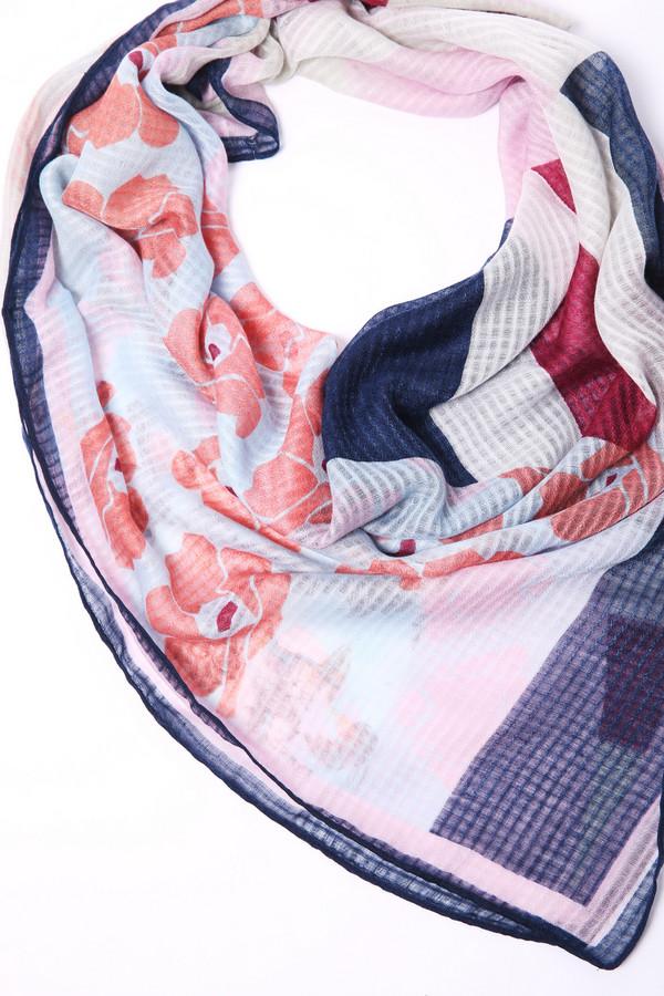 женский шарф rabe collection, разноцветный