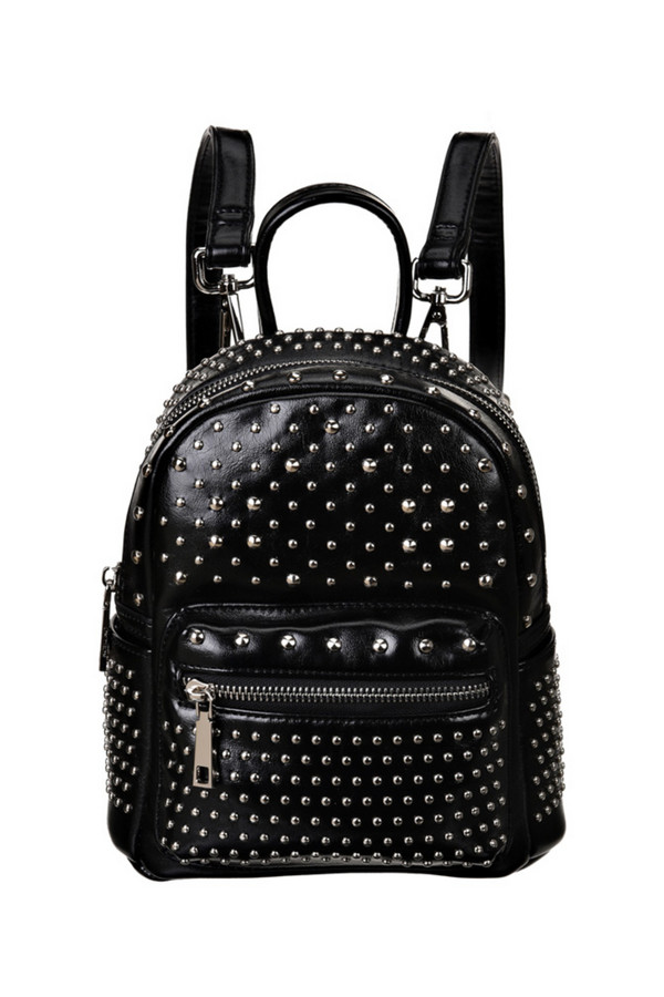 женский рюкзак vera victoria vito, черный