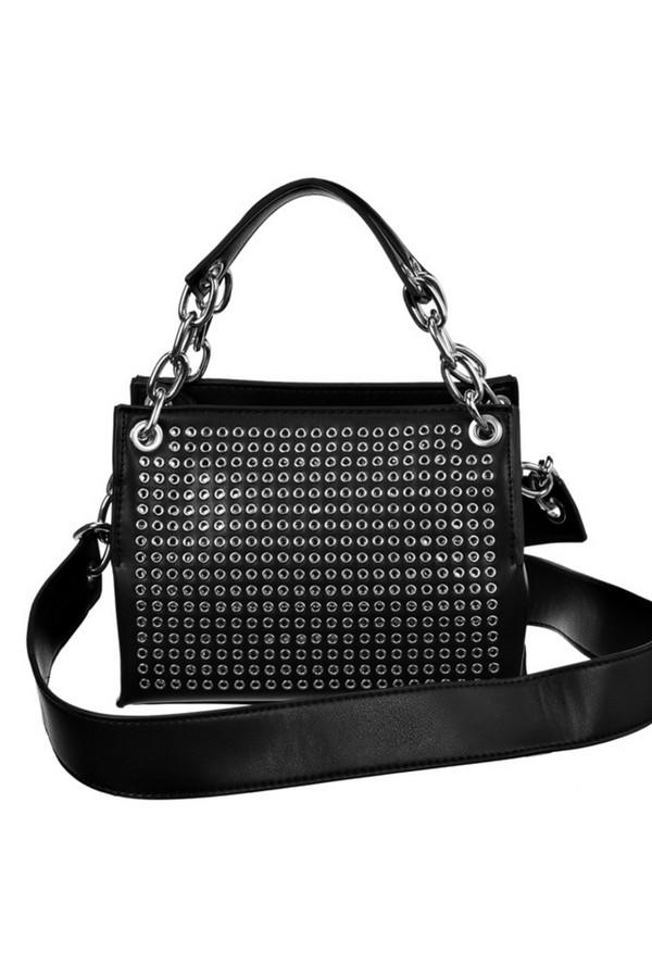 женская сумка vera victoria vito, черная