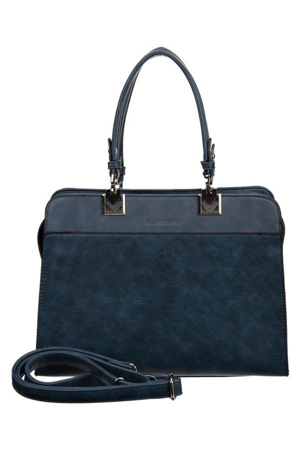 женская сумка vera victoria vito, синяя
