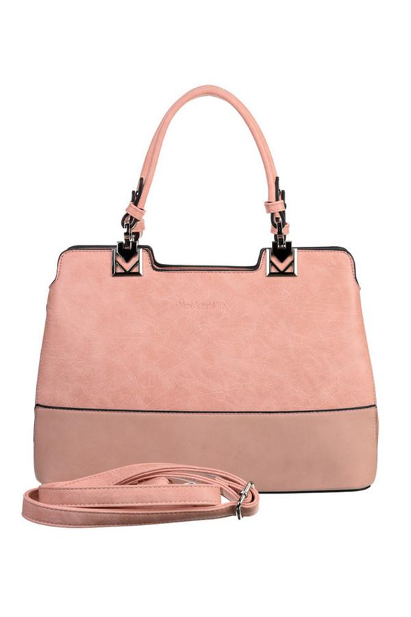 женская сумка vera victoria vito, розовая