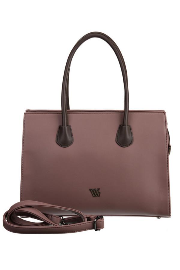 женская сумка vera victoria vito, коричневая