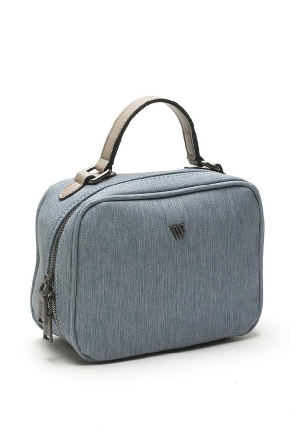 женская сумка vera victoria vito, голубая