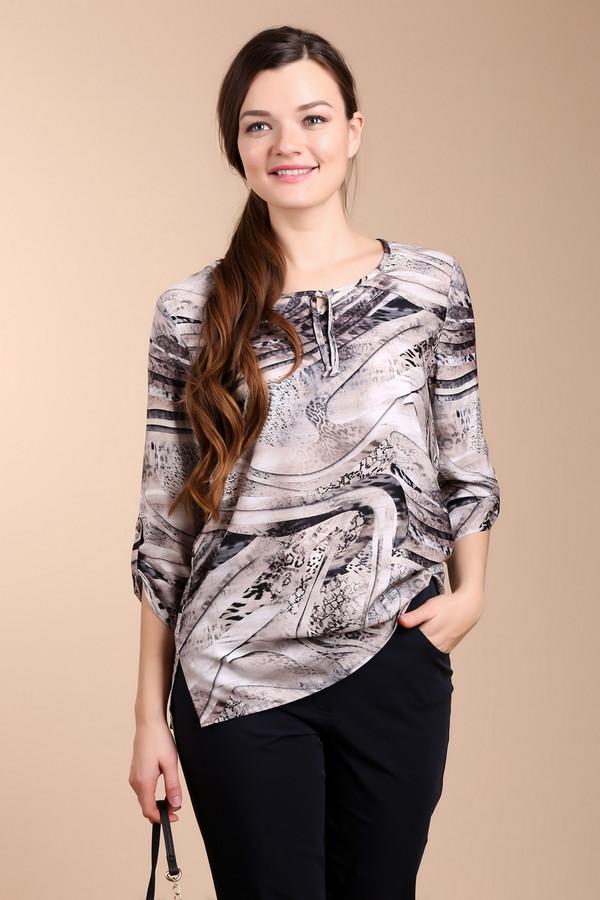 Блузa LebekБлузы<br>Очень красивая и легкая полиэстеровая блуза, с уникальным, но довольно спокойным орнаментом и змеиным принтом. У этой блузы ювелирное декольте, которое подчеркнет ваши женственные ключицы и шею. Такая блуза идеально смотрится с  юбкой -карандаш и классическими кремовыми лодочками. В такой блузе вы будете очень спокойно и элегантно выглядеть, но при этом, ни один взгляд не пройдет мимо вас.<br><br>Размер RU: 48<br>Пол: Женский<br>Возраст: Взрослый<br>Материал: полиэстер 100%<br>Цвет: Разноцветный