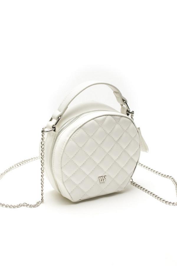 женская сумка vera victoria vito, белая