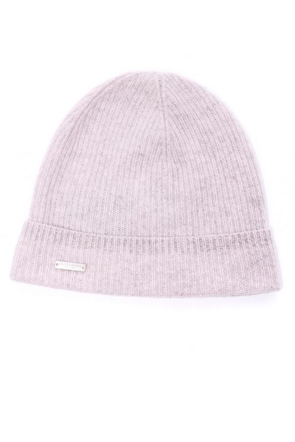 женская шапка seeberger, розовая