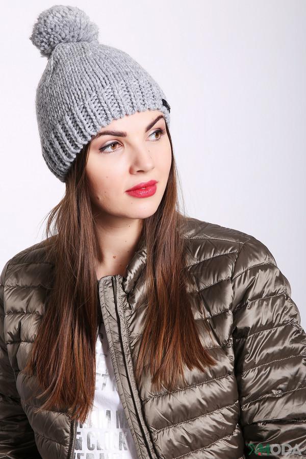 женская шапка wegener, серая