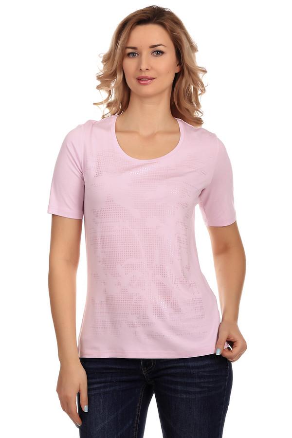 Футболка Frank WalderФутболки<br>Модная светло-розовая футболка от бренда Frank Walder. Изделие дополнено: круглым вырезом горловины и короткими рукавами. Обычная футболка, казалось бы простого кроя, она выигрывает за счет своего оригинального перламутрового чуть заметного принта. Футболка очень мягкая, приятная к телу.<br><br>Размер RU: 44<br>Пол: Женский<br>Возраст: Взрослый<br>Материал: эластан 8%, вискоза 92%<br>Цвет: Розовый