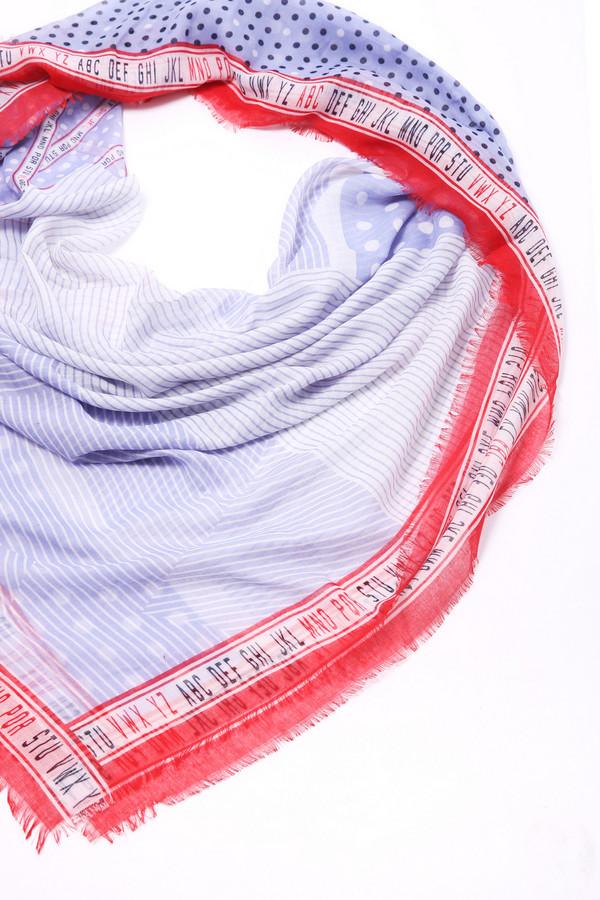 женский шарф samoon by gerry weber, разноцветный