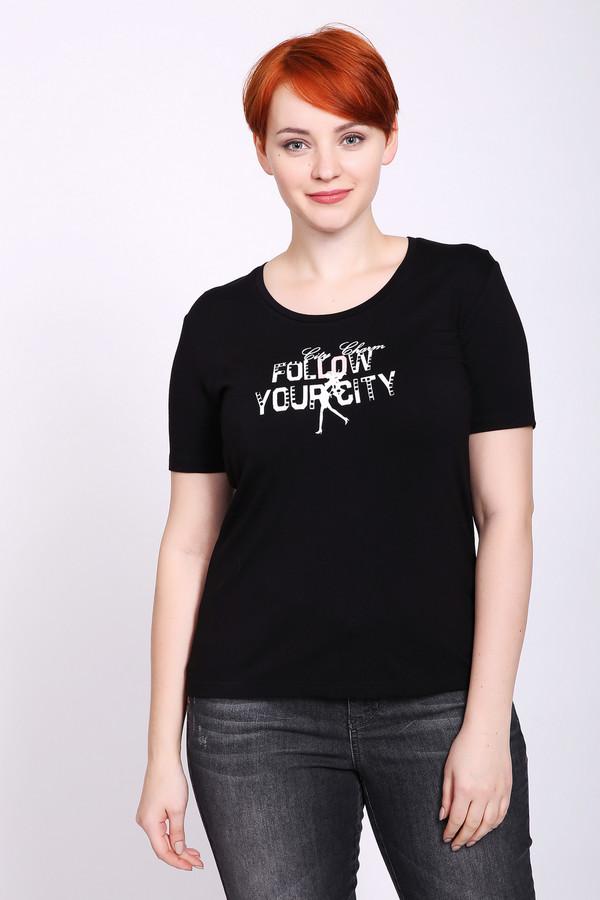 женская футболка pezzo, черная