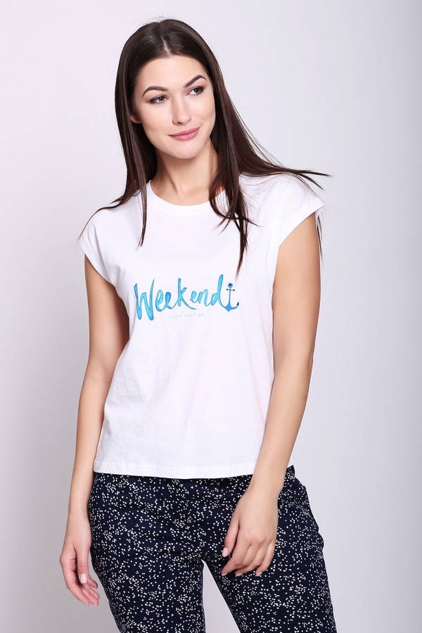 женская футболка pezzo, белая