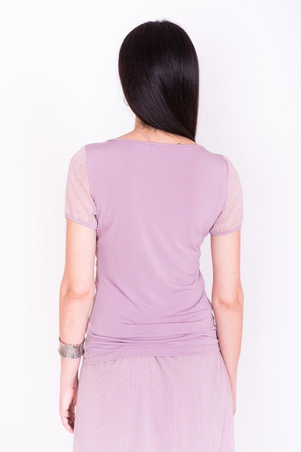 Фото 4 - Женскую блузку Argent розового цвета