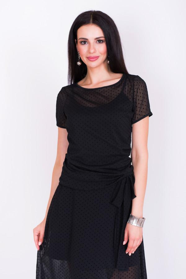 Фото - Женскую блузку Argent черного цвета