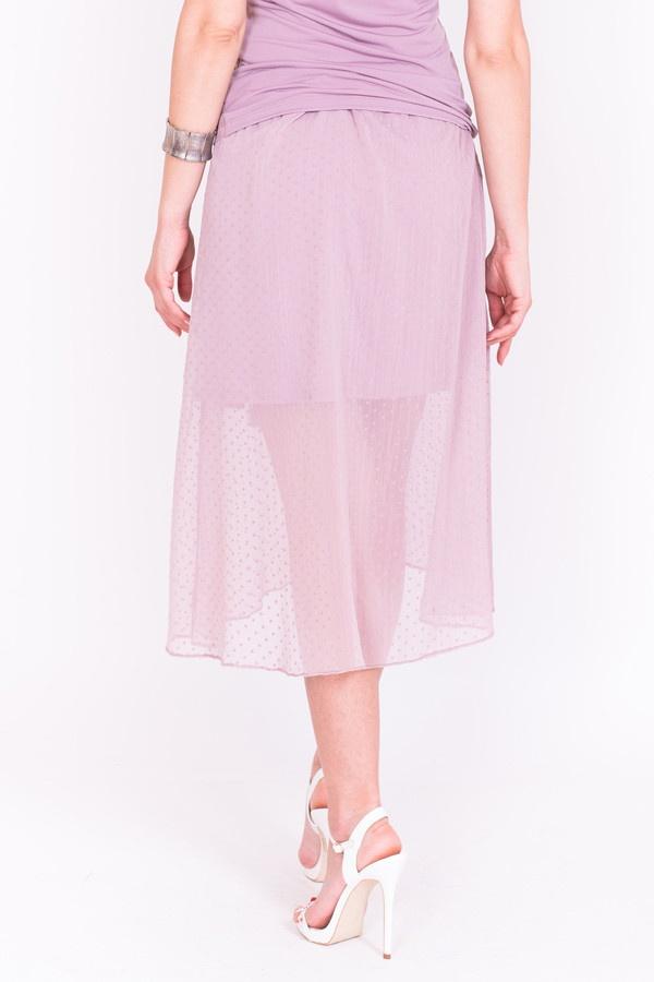 Фото 3 - Женскую юбку Argent розового цвета