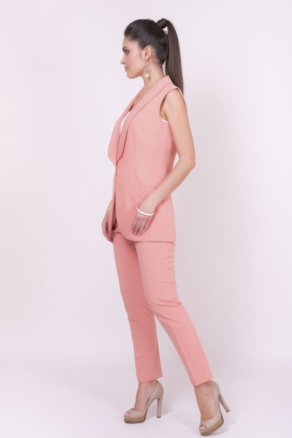 Фото - Женские брюки Argent розового цвета
