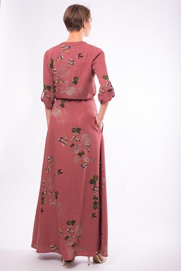 Фото 2 - Женское платье Argent красного цвета